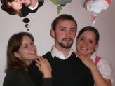 v.l.: Doreen Kummerlöw, Max Pritzl, Franziska Kürzinger