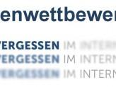 Logo Ideenwettbewerb Vergessen im Internet