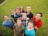 Team der Fachschaftsvertretung der Fakultät für Informatik und Mathematik