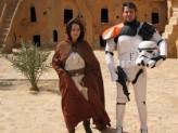 Fantouristen auf den Spuren von Star Wars in Tunesien
