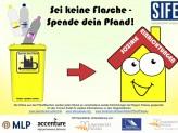 SIFE Passau: Spende Dein Pfand