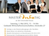 Master Infotag Plakat