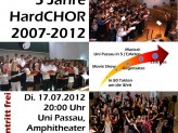 Plakat HardCHOR-Konzert