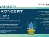 Flyer: Sommerkonzert