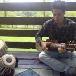 Beim Videodreh mit Waiz Rezai, Musiker