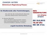 Infoveranstaltung: Bohemicum