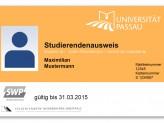 Studierendenausweis der Universität Passau