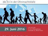 Migration und kein Ende - die EU in der Ohnmachtsfalle
