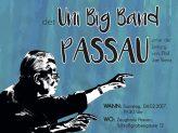 Plakat Abschlusskonzert der Uni Big Band