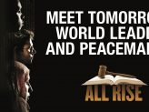 "Plakat: ""All Rise – Journey to a just World"""