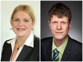 Frau Mayer und Herr Schöberl vom Career Service der Universität Passau