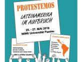 Offizieller Flyer der Passauer LateinAmerikagespräche 2018