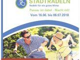 """Plakat der Aktion """"Stadtradeln"""" 2018"""