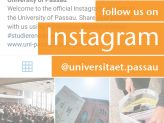 Screenshot des offiziellen Instagram Accounts der Uni Passau