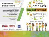 Info-Poster zum Autoren-Netzwerk von BurdaForward