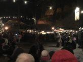 Die Passauer Höllgeister auf der Hilgartsberger Burgweihnacht