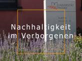 Grüne Universität - Nachhaltigkeitskonzepte an der Universität Passau
