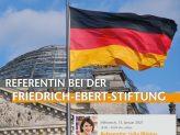 Berufe im Profil: Referentin bei der Friedrich-Ebert-Stiftung