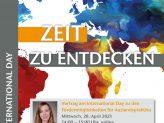Vortrag am International Day zu den Fördermöglichkeiten für Auslandspraktika