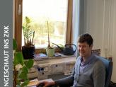 Matthias Schöberl in seinem Büro