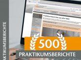 500 Praktikumsberichte